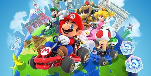 Google Play: Mario Kart Tour для мобільних телефонів. На старт! Увага…